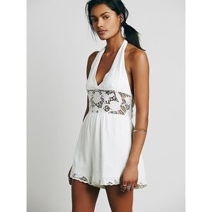 Free People Lace Day Dream Romper
